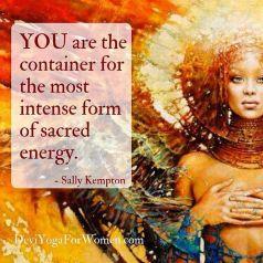 divine feminine sacred