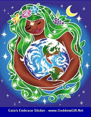 Gaia_Sticker GaiasEmbrace