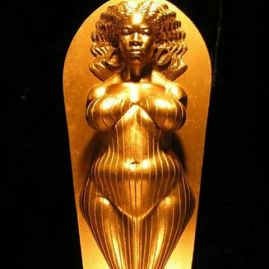 reimaging_Aphrodite is the African goddess of love,beauty, pleasure, and procreation